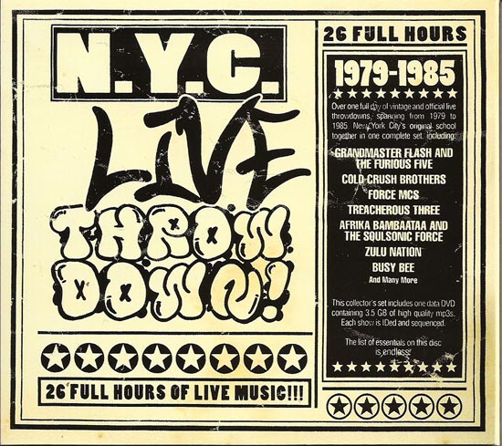 NYC Live Throw Down