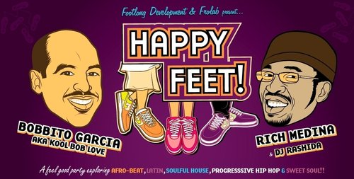 Bobbito Garcia And Rich Medina: Happy Feet And Afromentals 60 Minute Mix