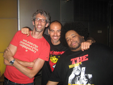 Stretch Armstrong and Bobbito