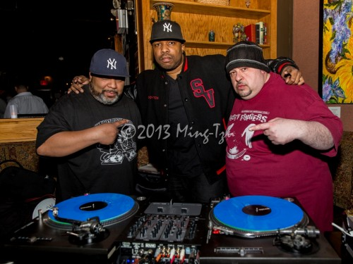 BreakBeat Lou, Danny Dan The Beat Mann and DJ Scratch