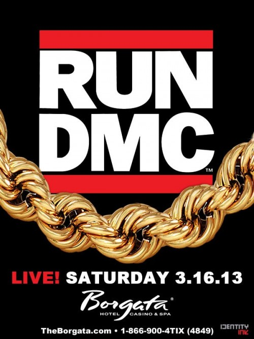 Run DMC in Atlantic City, NJ
