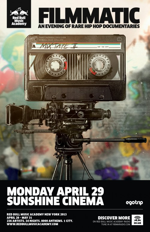 An Evening of Rare Hip Hop Documentaries