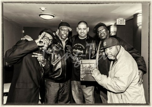 JDL, Grandmaster Caz, Kenny Dope, DJ Tony Tone and BreakBeat Lou