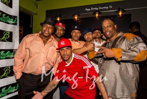 Rayvon, Krazy Eddie, Star, Devastating Tito, Grandmaster Caz and Mikey D