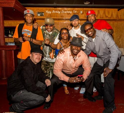 Stevie D, Waterbed Kev, Devastating Tito, Krazy Eddie, Reggie Reg and Rayvon
