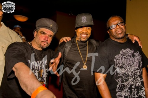 DJ Outlaw and DJ Tony Tone (Cold Crush Brothers), and Cut Master Cool V
