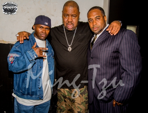 Grand Wizzard Theodore, Biz Markie and Krazy Eddie (Fearless 4)