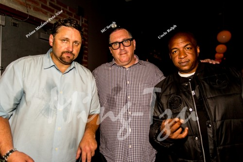Prime Minister Pete Nice, MC Serch and Uncle Ralph
