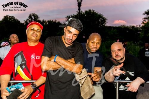 Scratchmasta Jazzy G, DJ Cash Money, Mell Starr and Danny Dan The Beat Mann